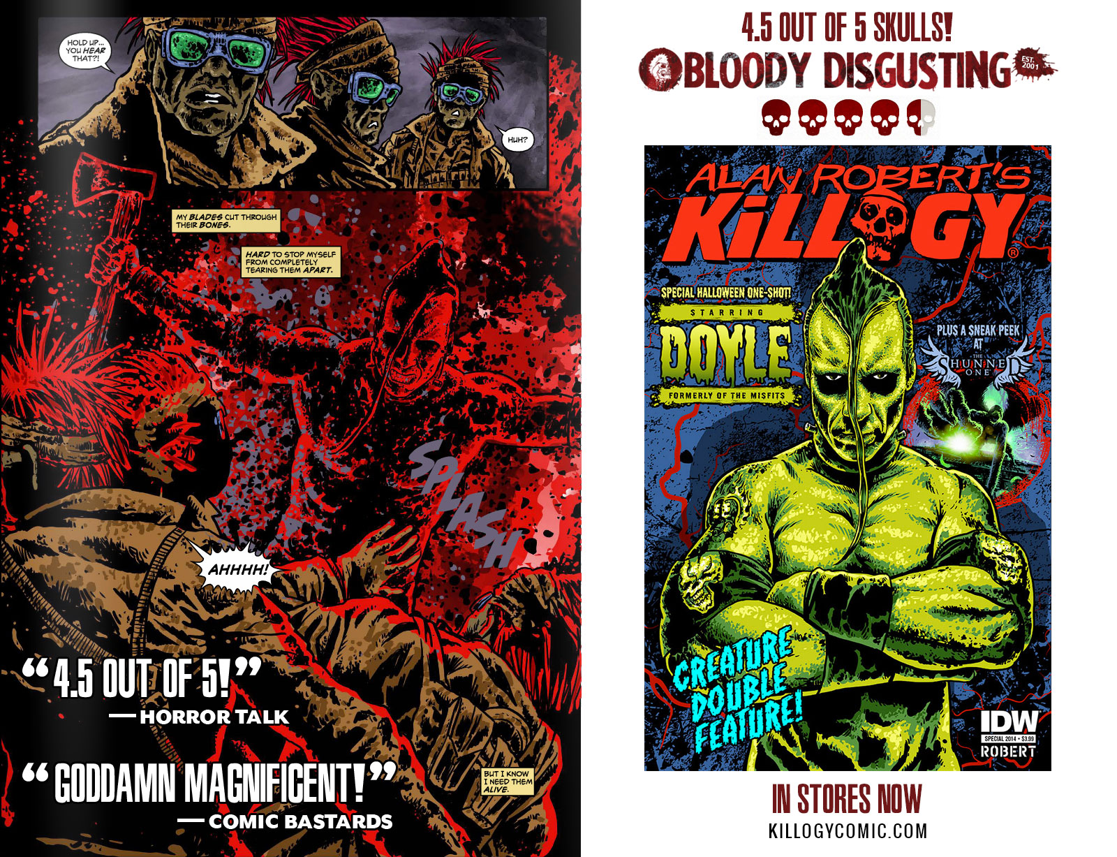 Killogy Comic Images